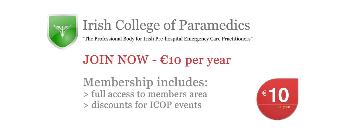 Irish College of Paramedics Membership