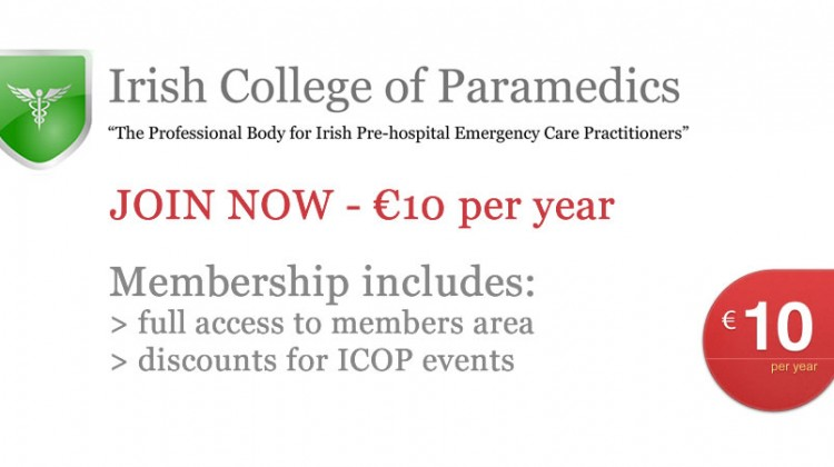 Irish College of Paramedics Membership