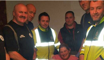 Baby Delivered by Dublin Fire Brigade
